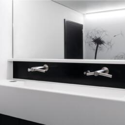 Chirec Delta Bruxelles - Séchage des mains - Toilettes sans contact