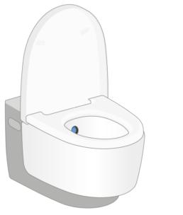 Geberit AquaClean WC-douche - 1. Des toilettes propres - Toilettes sans contact
