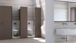 Toilettes publiques - WC-douches - Toilettes sans contact