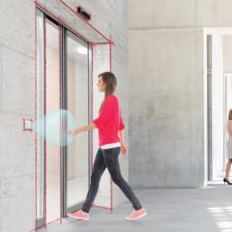 Livre blanc Coup de projecteur sur l'hygiène : circulation sans contact dans un bâtiment propre